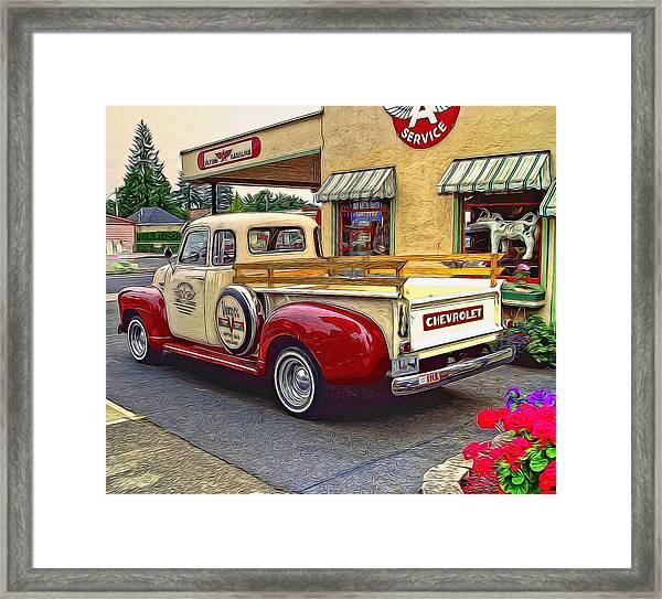 1949 Chevy Truck Framed Print