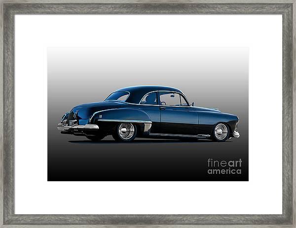 1949 Oldsmobile Rocket 88 Framed Print by Dave Koontz