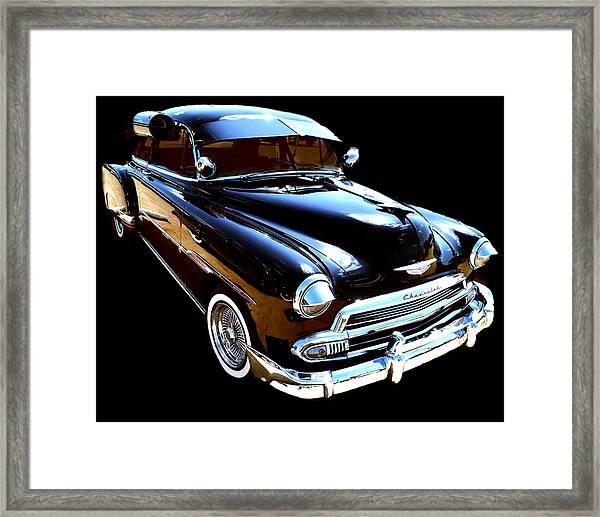 1950 Chevy Framed Print