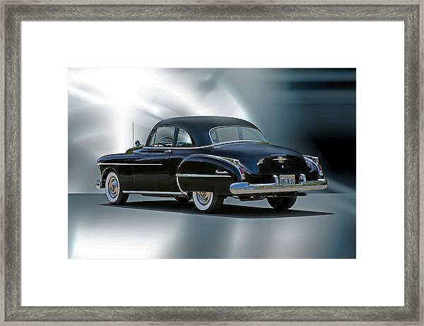 1950 Oldsmobile 88 Deluxe Club Coupe II Framed Print
