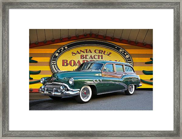 1952 Buick Estate 'woody' Wagon Framed Print