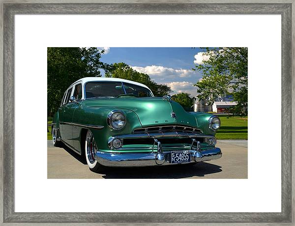 1952 Dodge Station Wagon Framed Print by Tim McCullough