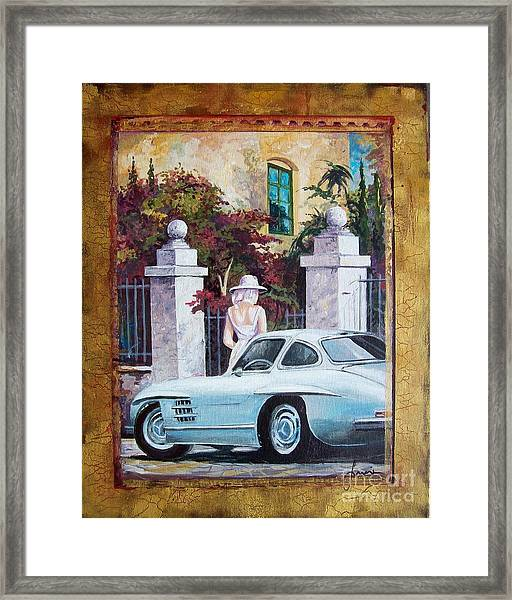 1954 Mercedes Benz Sl 300 Gullwing Framed Print