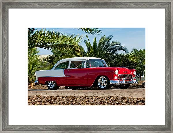 1955 Chevrolet 210 Framed Print