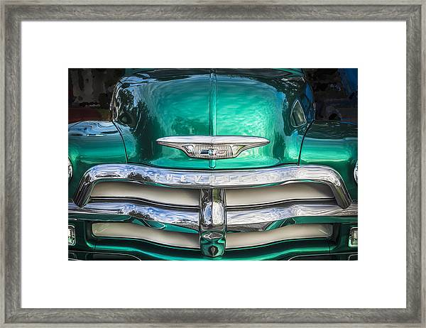 1955 Chevrolet First Series Framed Print