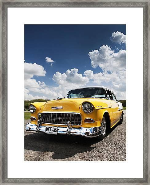1955 Chevrolet Framed Print
