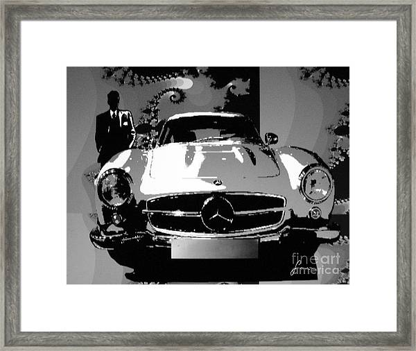 1956 Mercedes Benz 300 Sl Gullwing Framed Print