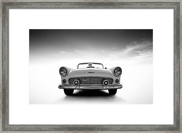 1956 Thunderbird Framed Print