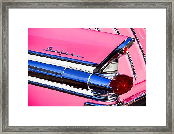 1957 Pontiac Safari Two-door Wagon Framed Print