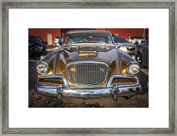 1957 Studebaker Golden Hawk  Framed Print