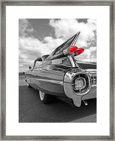1959 Cadillac Tail Fins Framed Print