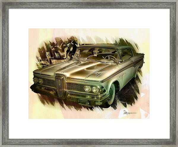 1959 Edsel Framed Print