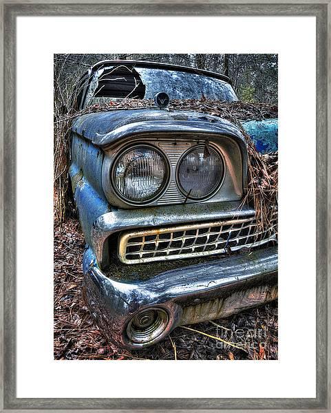 1959 Ford Galaxie 500 Framed Print