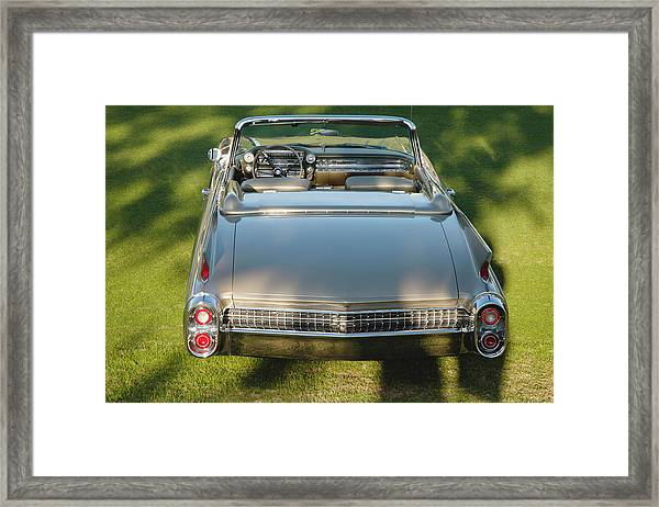 1960 Cadillac Eldorado Biarritz Framed Print