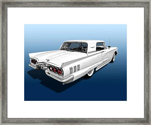 1960 Ford Thunderbird Framed Print