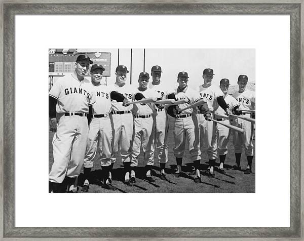 1961 San Francisco Giants Framed Print