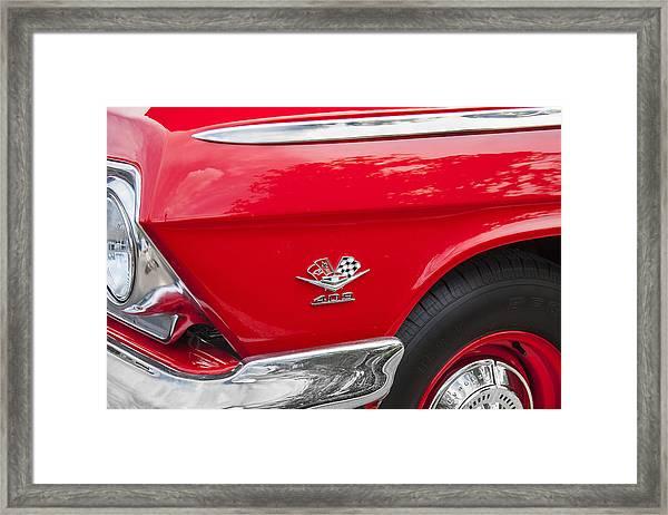 1962 Chevy Impala 409 Framed Print