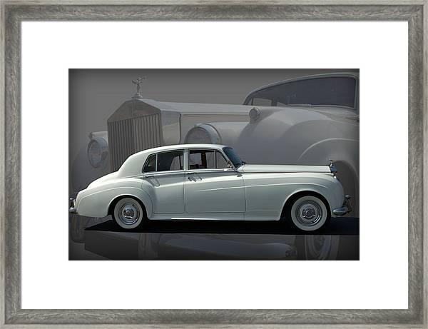 1962 Rolls Royce Silver Cloud Framed Print