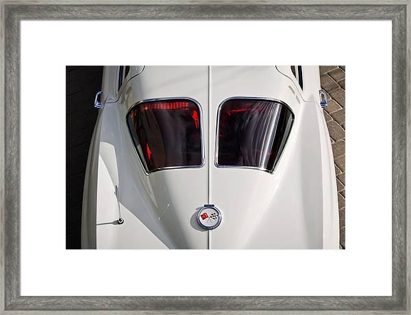 1963 Chevrolet Corvette Split Window -399c Framed Print