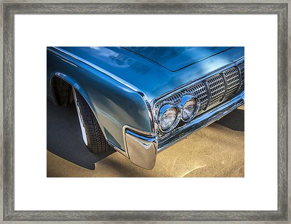 1964 Lincoln Continental Convertible  Framed Print
