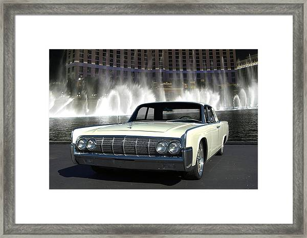 1964 Lincoln Continental Framed Print