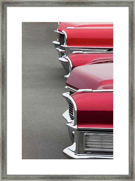 1965 Cadillac Deville Convertible Coupe Framed Print by Car Culture