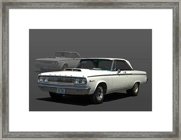 1965 Dodge Coronet 440 Framed Print