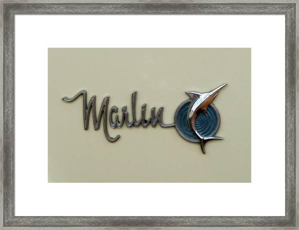 1965 Rambler Marlin Framed Print