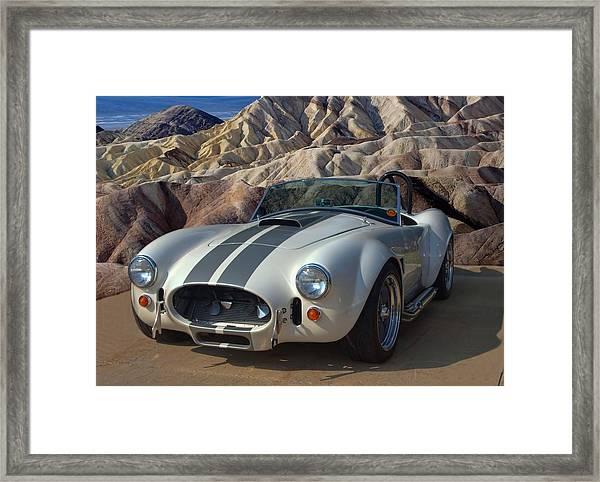 1965 Shelby Cobra Replica 427 Framed Print