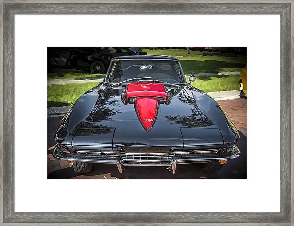 1967 Chevrolet Corvette 427 435 Hp Framed Print