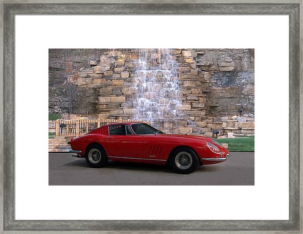 1967 Ferrari 275 Gtb Framed Print