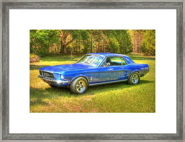 1967 Ford Mustang Framed Print