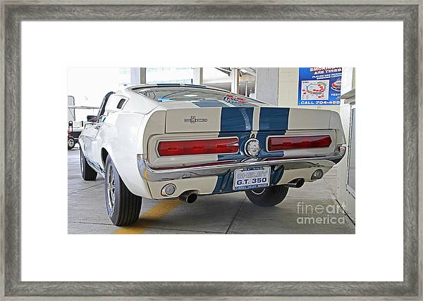 1967 Mustang Shelby Gt-350 Framed Print