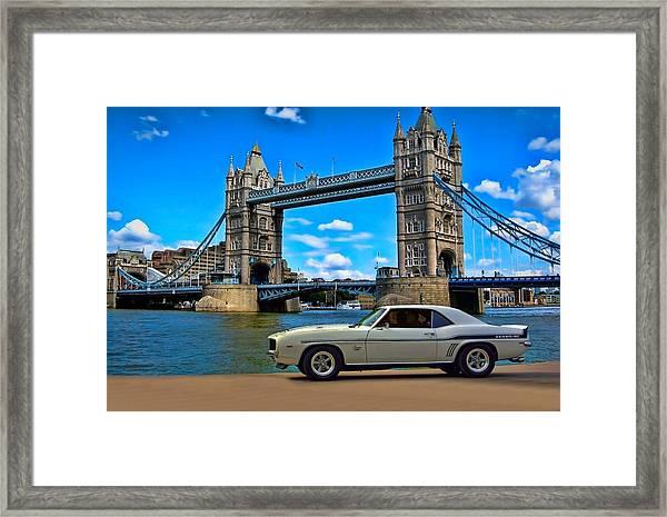 1969 Camaro Yenko Sc Framed Print