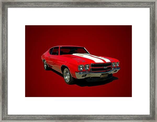 1970 Chevelle Super Sport Framed Print