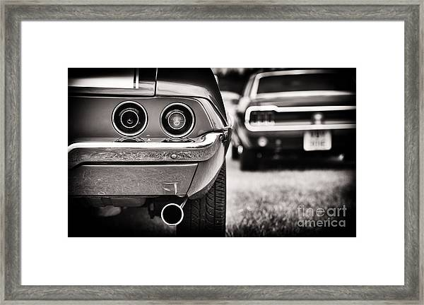 1972 Camaro Framed Print