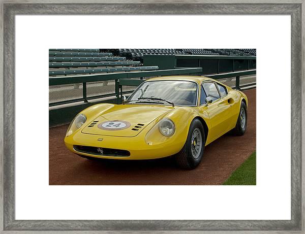 1972 Ferrari Dino 246 Framed Print