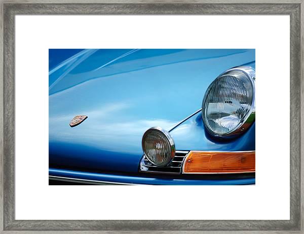1972 Porsche 911s Hood Emblem Framed Print