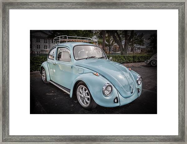 1974 Volkswagen Beetle Vw Bug Framed Print