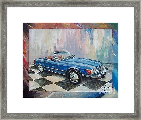 1976 Mercedes-benz 450 Sl Framed Print