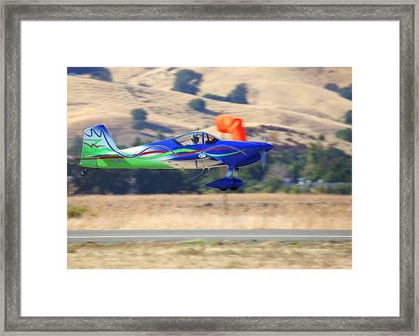 1997 Vans Rv-6a Fly-by N212bj Framed Print by John King