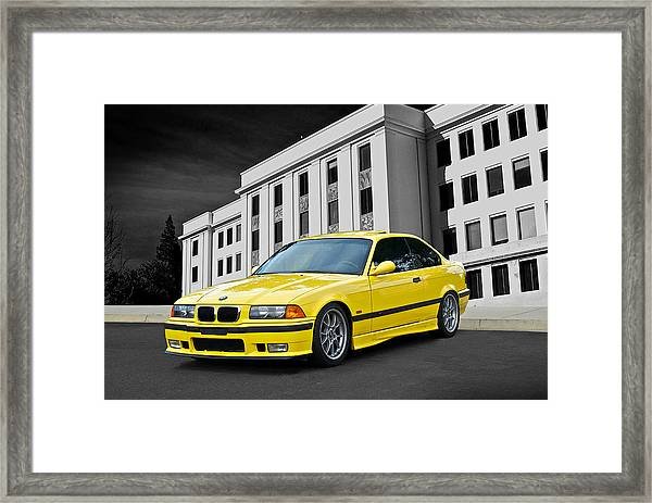1998 Bmw M3 Coupe Framed Print