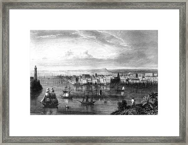 19th Century Havana Framed Print