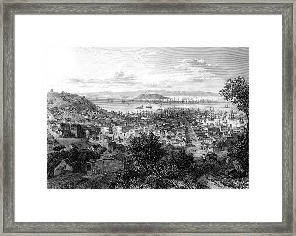 19th Century San Francisco Framed Print