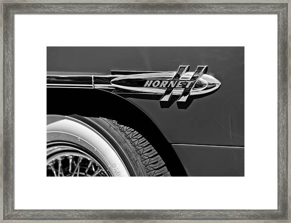 1953 Hudson Hornet Emblem Framed Print
