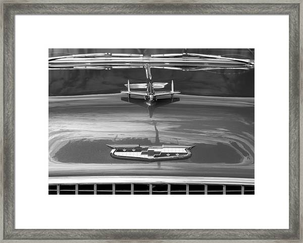 1955 Chevrolet Bel Aire Framed Print
