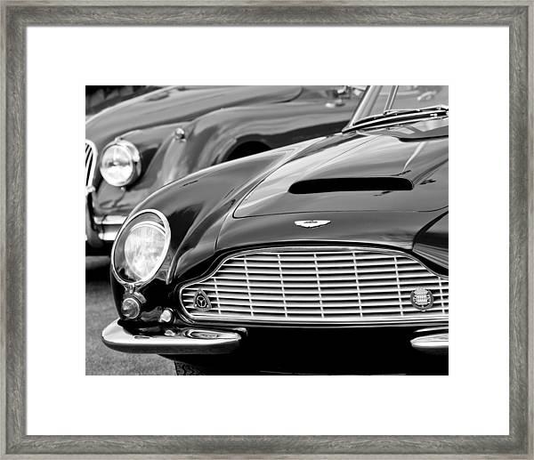 1965 Aston Martin Db6 Short Chassis Volante Framed Print