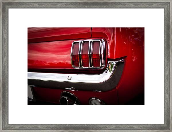 1966 Ford Mustang Framed Print