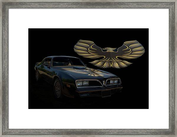1978 Pontiac Trans Am  Framed Print