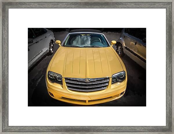 2008 Chrysler Crossfire Convertible  Framed Print